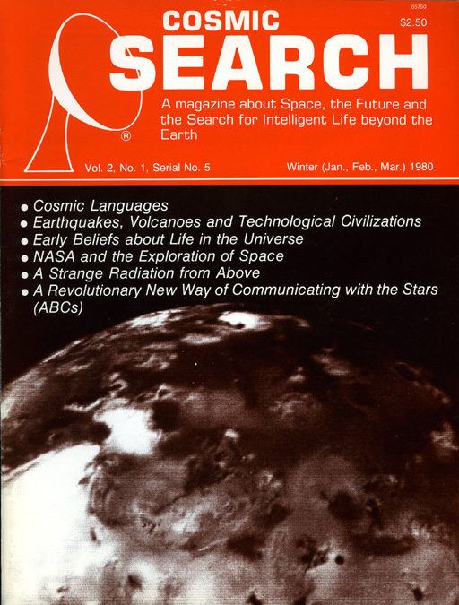 Cosmic Search Issue 05 All Articles Miscellaneous Items